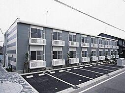 愛知県岡崎市宇頭東町の賃貸アパートの外観