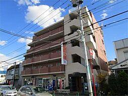 東京都日野市南平8丁目の賃貸マンションの外観