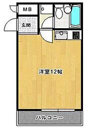 エクセレンス祇園[5階]の間取り