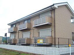 岐阜県可児市瀬田の賃貸アパートの外観