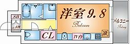Rassurer Kobe[2階]の間取り
