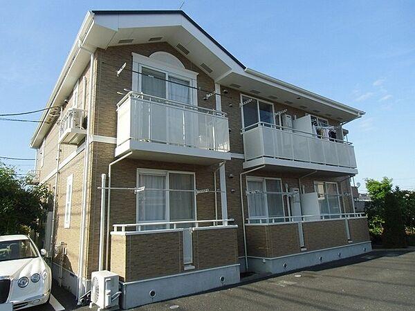 神奈川県小田原市飯泉の賃貸アパートの外観