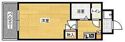 福岡県福岡市早良区野芥2丁目の賃貸マンションの間取り