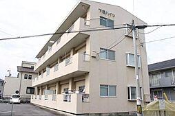 愛知県岡崎市井内町字下堤の賃貸マンションの外観