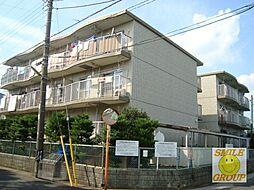 市川カトレアハイツ松塚[3階]の外観