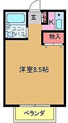 トシマハイツ[202号室]の間取り