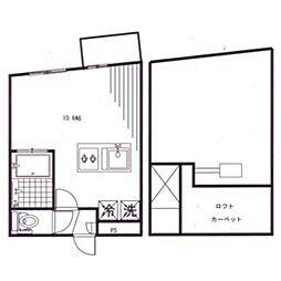 9SENZOKU[2階]の間取り