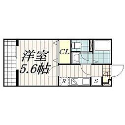 リブリ・検見川町[3階]の間取り