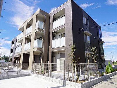 外観,1LDK,面積46.17m2,賃料8.5万円,つくばエクスプレス 研究学園駅 徒歩32分,,茨城県つくば市学園の森3丁目
