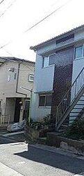 東京都品川区平塚2丁目の賃貸アパートの外観
