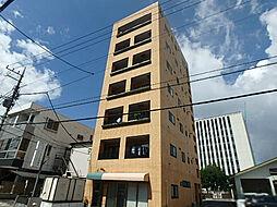栃木県宇都宮市材木町の賃貸マンションの外観