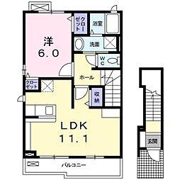 サカエハウス[2階]の間取り