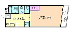 冨士メイトマンション[3階]の間取り