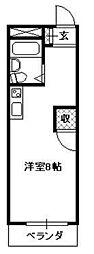 シャトレ所沢[3階]の間取り