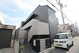大阪府堺市堺区東湊町3丁の賃貸アパートの外観
