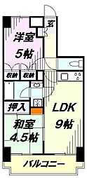所沢ガーデンテラス[5階]の間取り