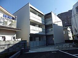 東京都八王子市子安町1丁目の賃貸アパートの外観