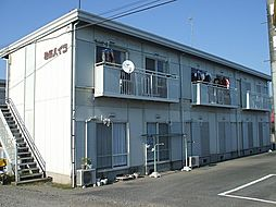 栃木県塩谷郡高根沢町大字宝積寺の賃貸アパートの外観