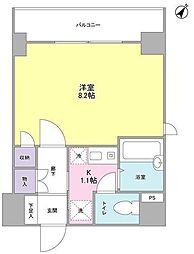 フォレシティ内神田[2階]の間取り