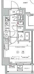 MAXIV川崎 9階1Kの間取り