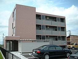新潟県新発田市御幸町4丁目の賃貸マンションの外観
