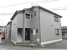 神奈川県大和市桜森1の賃貸アパートの外観