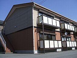 長野県飯田市上郷黒田の賃貸アパートの外観