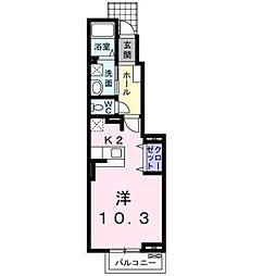 サンリット ファミーユ II[1階]の間取り