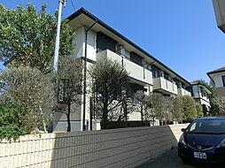 千葉県千葉市緑区おゆみ野6の賃貸アパートの外観