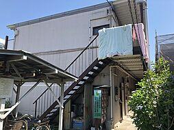 東京都江戸川区東小松川2丁目の賃貸アパートの外観