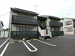 栃木県真岡市熊倉1丁目の賃貸アパートの外観