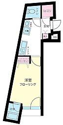 小石川フィエルテ[1階]の間取り