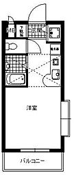 JGM福大前[301号室]の間取り