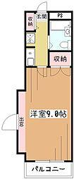 ミリオンコート久米川駅前[3階]の間取り