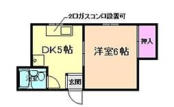 K`sレジデンス曽根南[3階]の間取り