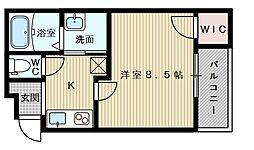 フジパレス東淀川6番館[2階]の間取り