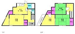 [一戸建] 兵庫県加古川市野口町野口 の賃貸【/】の間取り