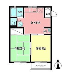 湘南セレナ・ドゥ[1階]の間取り