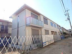 大阪府豊中市服部寿町1丁目の賃貸アパートの外観