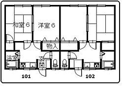 福間駅 3.5万円
