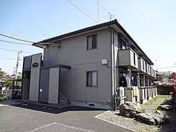 東京都八王子市大横町の賃貸アパートの外観