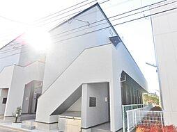 神奈川県大和市中央5の賃貸アパートの外観