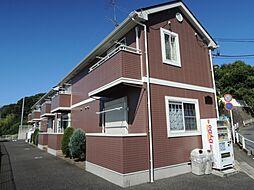 神奈川県鎌倉市山崎の賃貸アパートの外観