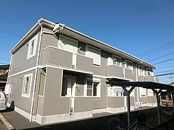 千葉県市原市岩崎西1丁目の賃貸アパートの外観