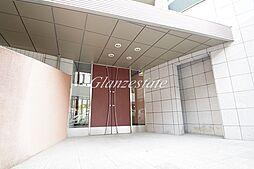 神奈川県川崎市中原区新城の賃貸マンションの外観
