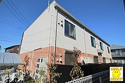 千葉県市川市妙典2丁目の賃貸アパートの外観