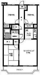 エル・パラシオI[4階]の間取り