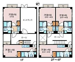 JR京浜東北・根岸線 大宮駅 徒歩7分の賃貸マンション 2階1Kの間取り