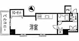 ライオンズマンション関内第3[401号室]の間取り