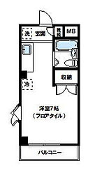 セゾン青葉台[301号室]の間取り